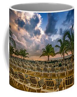 Mahogany Bay Beach-roatan-honduras Coffee Mug