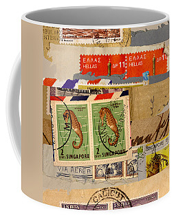 Stamps Coffee Mugs