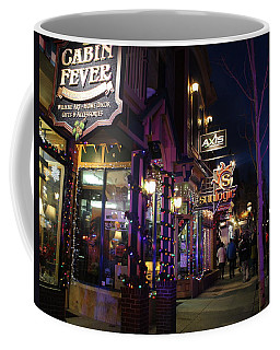 Main Street Breckenridge Colorado Coffee Mug by Fiona Kennard