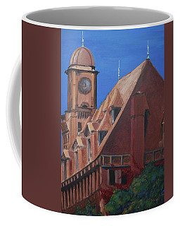 Coffee Mug featuring the painting Main Street Station by Donna Tuten
