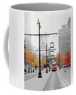 Main Street Trolley  Coffee Mug