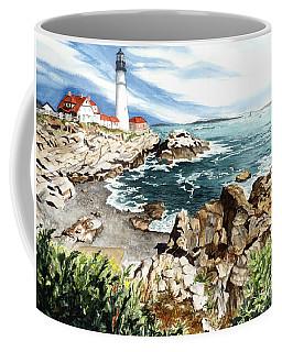 Maine Attraction Coffee Mug by Barbara Jewell