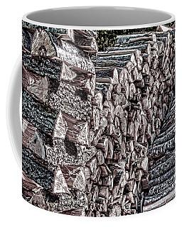Maine Firewood Coffee Mug