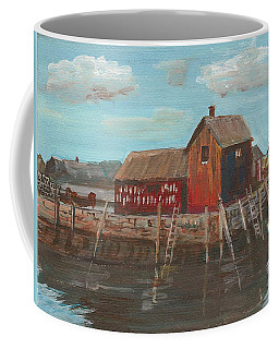 Maine Fishing Shack Coffee Mug