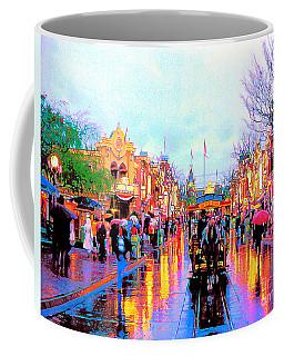 Coffee Mug featuring the photograph Mainstreet Disneyland by David Lawson