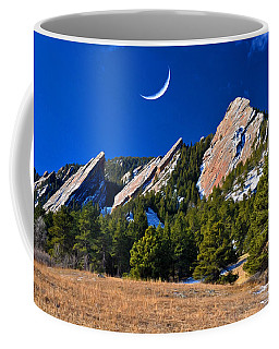 Majestic Flatirons Of Boulder Colorado Coffee Mug