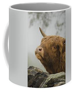 Majestic Highland Cow Coffee Mug by Linsey Williams