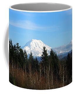 Majestic Mount Rainier Coffee Mug