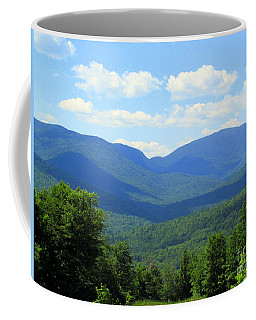 Majestic Mountains Coffee Mug by Elizabeth Dow