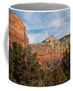 Coffee Mug featuring the photograph Majestic Sedona by Randy Bayne