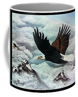 Coffee Mug featuring the painting Majestic Splendor by Dianna Lewis