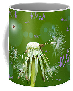 Make A Wish Card Coffee Mug