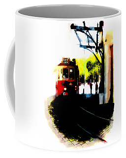 Make Way For The Tram  Coffee Mug