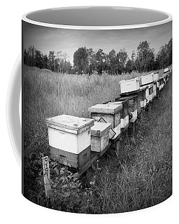 Making Honey II Bw Coffee Mug