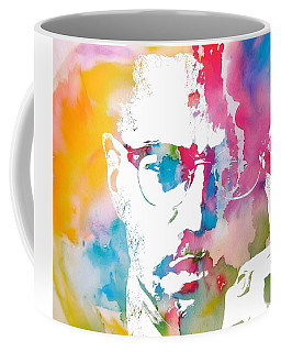 Malcolm X Watercolor Coffee Mug