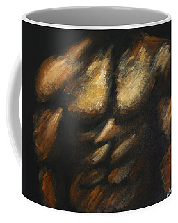 Male Bodybuilder Coffee Mug by Dani Abbott