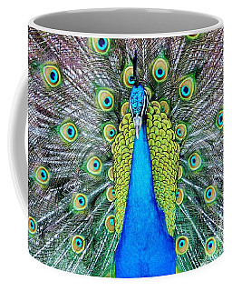 Male Peacock Coffee Mug