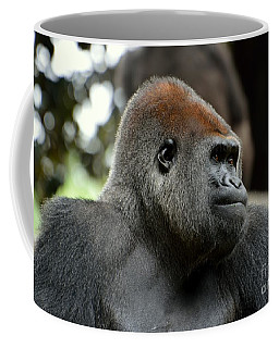 Coffee Mug featuring the photograph Male Silverback by Lisa L Silva