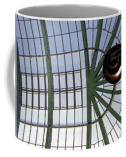 Coffee Mug featuring the photograph Mall Of Emirates Skylight by Andrea Anderegg