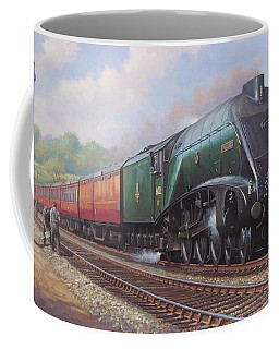 Mallard On The Elizabethan. Coffee Mug