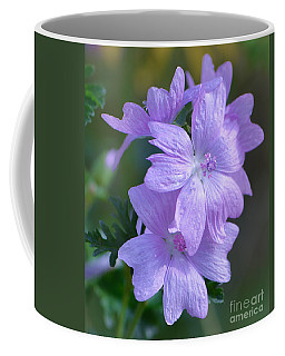 Mallow Blossoms Coffee Mug