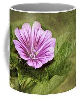 Mallow Hollyhock Coffee Mug