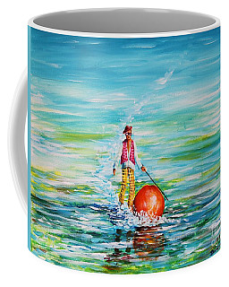 Strolling On The Water Coffee Mug