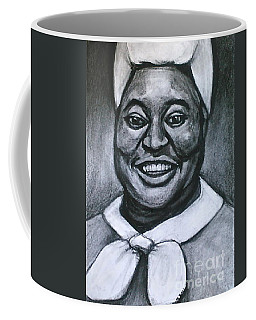 Coffee Mug featuring the drawing Hattie by Gabrielle Wilson-Sealy