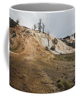 Coffee Mug featuring the photograph Mammoth Hot Springs by Belinda Greb