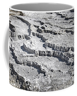Mammoth Terraces Detail Coffee Mug