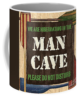 Man Cave Do Not Disturb Coffee Mug