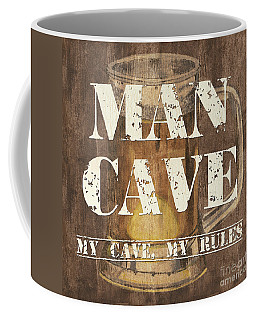 Man Cave My Cave My Rules Coffee Mug