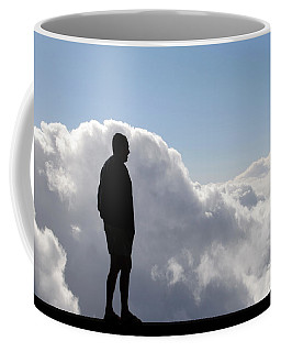 Man In The Clouds Coffee Mug