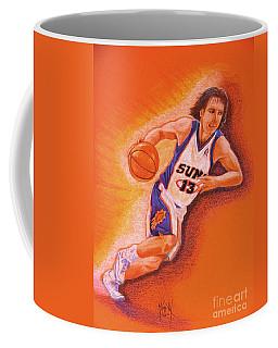 Man On Fire Coffee Mug by Marilyn Smith