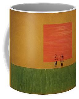 Man On The Brink Coffee Mug