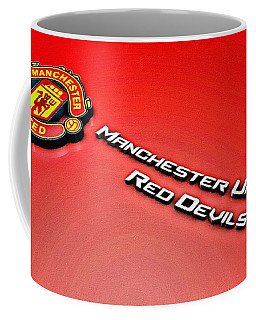 Man United Red Devils Poster Coffee Mug