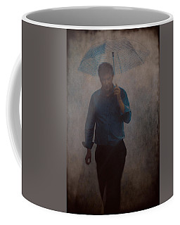 Man With An Umbrella Coffee Mug