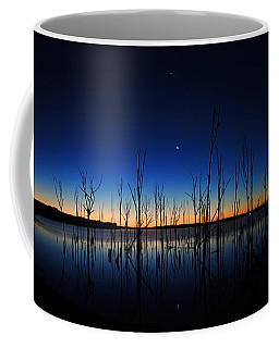 Manasquan Reservoir At Dawn Coffee Mug