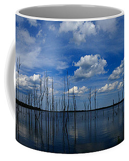 Manasquan Reservoir Panorama Coffee Mug