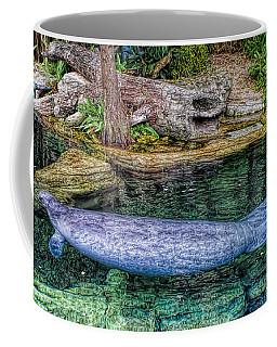 Manatee Coffee Mug by Olga Hamilton
