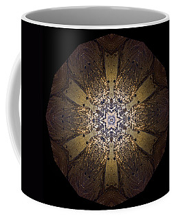 Coffee Mug featuring the photograph Mandala Sand Dollar At Wells by Nancy Griswold