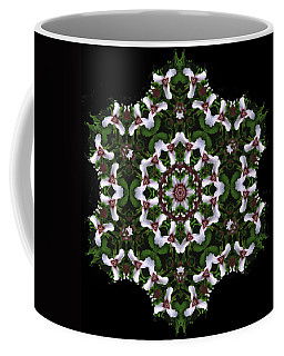 Mandala Trillium Holiday Coffee Mug