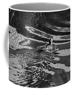 Mandarin Duck Bw - Leif Sohlman Coffee Mug