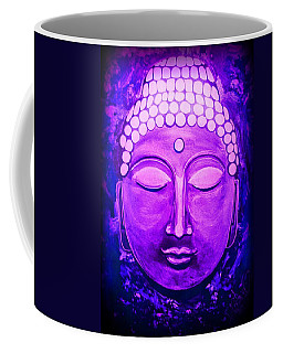 Coffee Mug featuring the painting Mandi's Buddha by Michelle Dallocchio