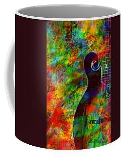 Mandolin Magic Coffee Mug by Ally  White