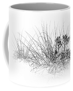 Mangrove And Sea Oats-bw Coffee Mug