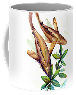 Coffee Mug featuring the painting Mangrove Snapper II by Ashley Kujan