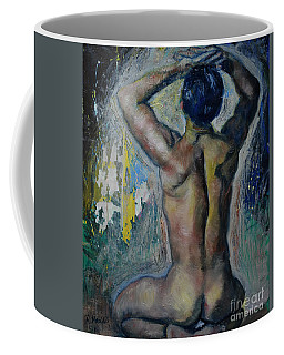 Man's Back Coffee Mug