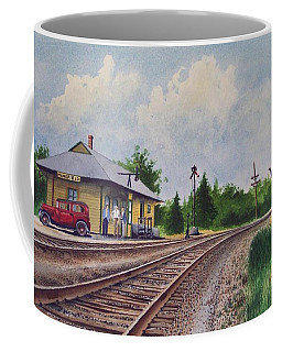 Mansfield Railroad Station Coffee Mug