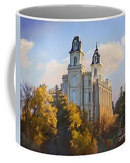 Manti Temple Coffee Mug
